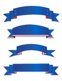 Bandeira/bandeiras patrióticas ilustração stock