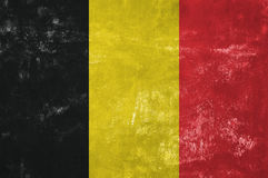 Bandeira belga Imagens de Stock
