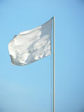 Bandeira branca Fotos de Stock