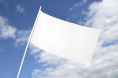 Bandeira branca para a paz Imagens de Stock Royalty Free