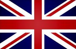 Bandeira britânica ilustração stock