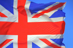 Bandeira britânica de Jack de união Foto de Stock Royalty Free