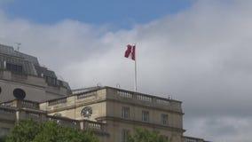 Bandeira canadense vídeos de arquivo