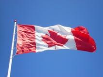 Bandeira canadense Foto de Stock Royalty Free