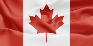 Bandeira canadense - Canadá foto de stock royalty free