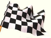 Bandeira Checkered. 3d Imagens de Stock Royalty Free