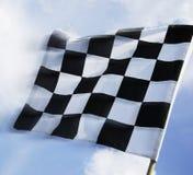 Bandeira Checkered Imagens de Stock