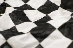 Bandeira Checkered da raça Imagem de Stock
