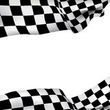 Bandeira checkered do fundo Foto de Stock