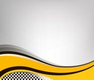 Bandeira Checkered Ilustração do vetor Fotografia de Stock Royalty Free