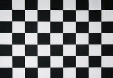 Bandeira checkered real Imagens de Stock Royalty Free