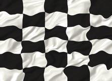Bandeira Chequered Foto de Stock