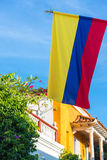 Bandeira colombiana Imagem de Stock