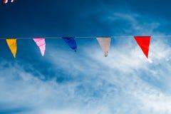 Bandeira colorida de sopro Imagem de Stock Royalty Free