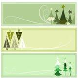 Bandeira com conceito do inverno Foto de Stock Royalty Free