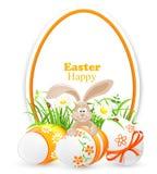 Bandeira de Easter Imagem de Stock