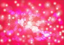 Bandeira cor-de-rosa vermelha do fundo do sumário do fundo Fotos de Stock Royalty Free
