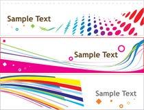 Bandeira creativa Fotos de Stock