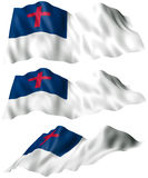 Bandeira cristã Fotografia de Stock