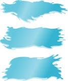 Bandeira da água fresca Fotos de Stock