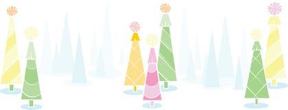 Bandeira da árvore do feriado Foto de Stock