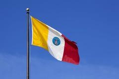 Bandeira da cidade de Columbo Ohio Fotos de Stock