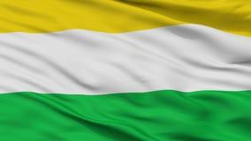 Bandeira da cidade de Dagua, Colômbia, Valle Del Cauca Department, opinião do close up imagens de stock