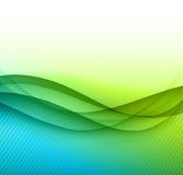 Bandeira abstrata da cor Fotos de Stock