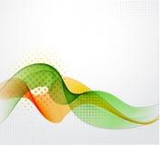 Bandeira abstrata da cor Fotos de Stock Royalty Free
