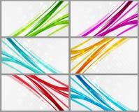 Bandeira abstrata da cor Imagens de Stock Royalty Free