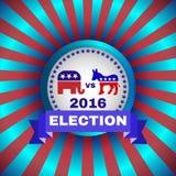 Bandeira 2016 da eleição Fotografia de Stock
