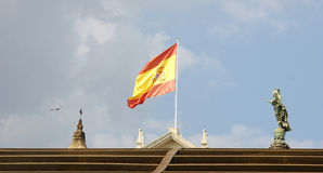 Bandeira da Espanha Fotos de Stock Royalty Free