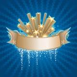 Bandeira da estrela Foto de Stock Royalty Free