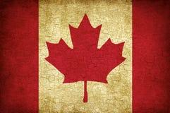 Bandeira da folha de plátano de Canadá Foto de Stock Royalty Free