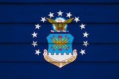 Bandeira da força aérea dos EUA imagens de stock