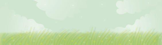 Bandeira da mola Imagens de Stock Royalty Free