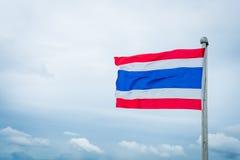 Bandeira da nação de Tailândia Imagem de Stock Royalty Free