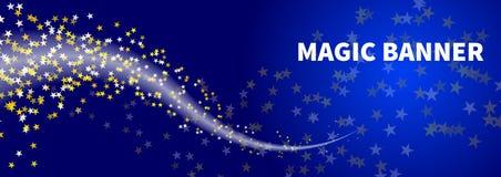 Bandeira da noite do inverno Imagens de Stock Royalty Free