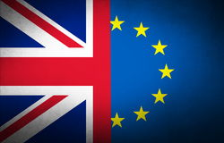 Bandeira da obscuridade de Reino Unido Fotografia de Stock