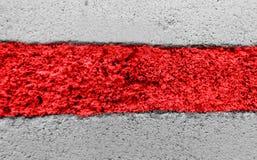 Bandeira da oposição do Republic of Belarus fotos de stock