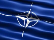 Bandeira da OTAN Fotos de Stock