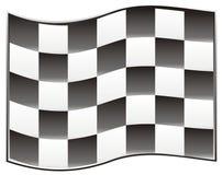 Bandeira da raça ilustração stock