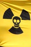 Bandeira da radiação Fotos de Stock Royalty Free