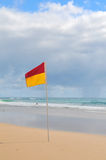 Bandeira da ressaca Fotos de Stock