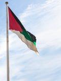 Bandeira da revolta árabe na cidade de Aqaba foto de stock