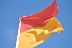 Bandeira da salva-vidas Foto de Stock