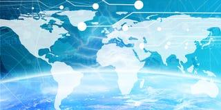 Bandeira da tecnologia Foto de Stock