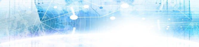 Bandeira da tecnologia Imagens de Stock