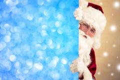 Bandeira da terra arrendada de Papai Noel Imagem de Stock