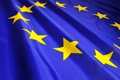 Bandeira da UE Foto de Stock